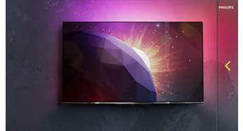 Телевизоры отличаются изысканным дизайном и безупречным качеством работы