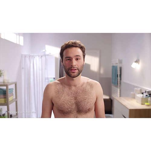 Beardtrimmer series 3000 Barbero para barba y barba de 2 días