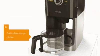 sandström kaffebryggare med kvarn