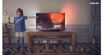 Smart TV, за да се забавлявате с онлайн услугите и да пускате мултимедия на телевизора