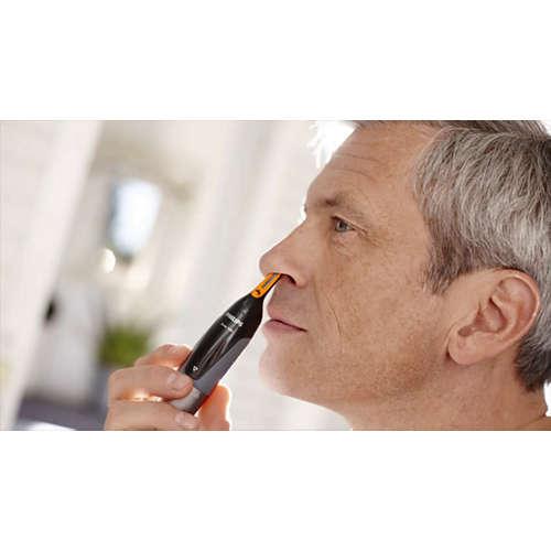 Nosetrimmer series 3000 Nasen-, Ohrhaar- u. Augenbrauentrimmer
