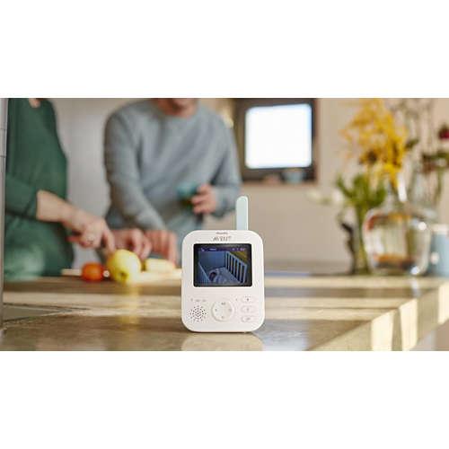 Avent Monitor video digital pentru copii