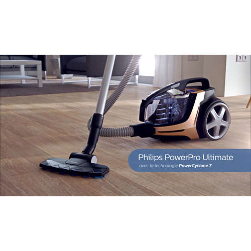 PowerPro Ultimate Aspirateur sans sac