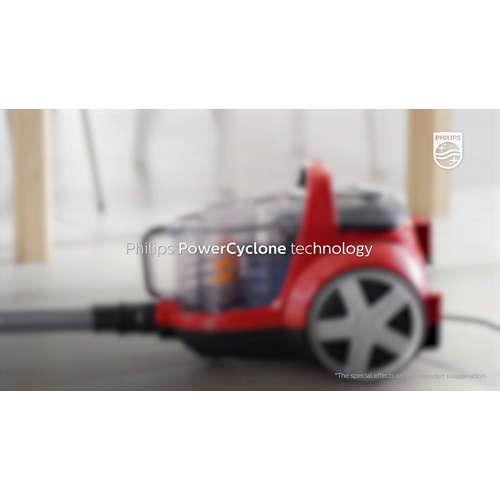 PowerPro Active Stofzuiger zonder stofzak