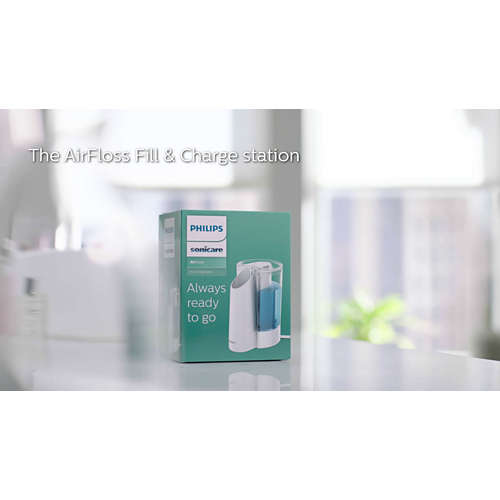 Sonicare Fill & Charge station