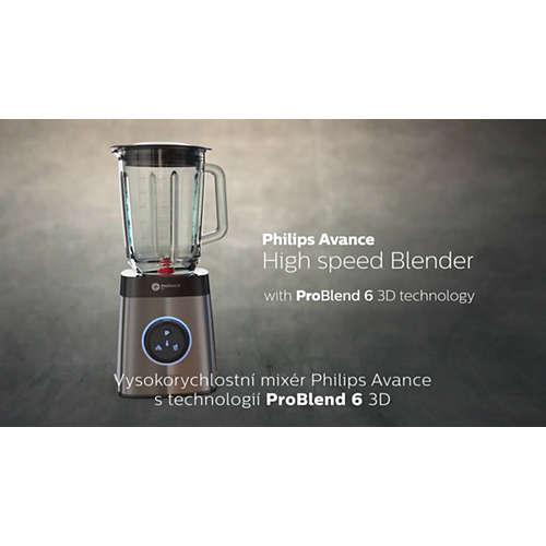 Avance Collection Stolní mixér s lahvemi