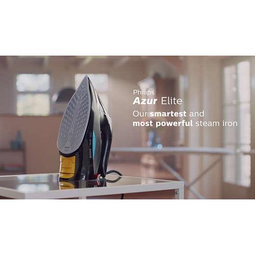 Azur Elite Philips første smarte strykejern