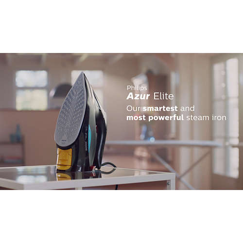Azur Elite Plancha de vapor con tecnología OptimalTEMP