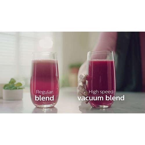 High-speed vacuum blender