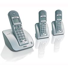 CD1303S/05 -    Sladdlös telefon