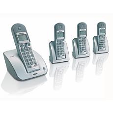 CD1304S/05 -    Sladdlös telefon