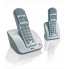 CD1352S/05  Telefon cu robot, fără fir