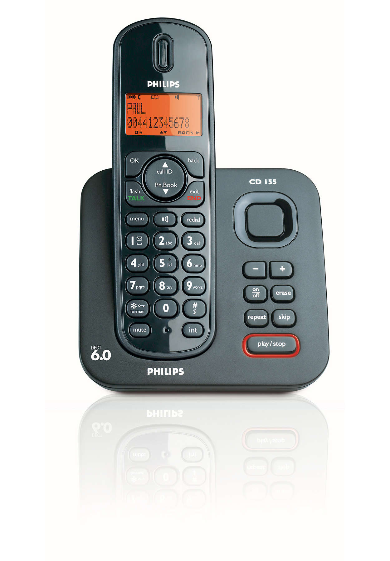 Expandable Digital Cordless Phone