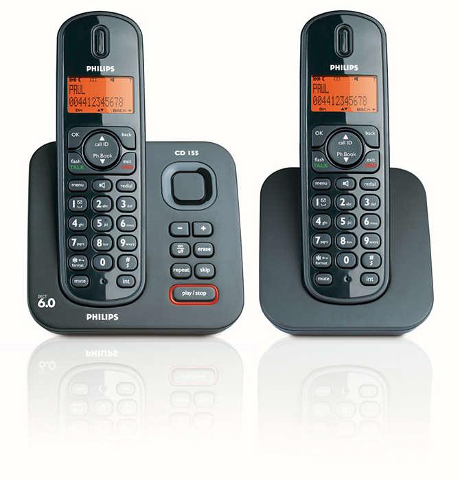Expandable Digital Cordless Phone