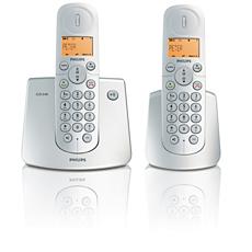 CD2402S/57  Teléfono inalámbrico