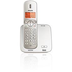 CD3601S/79 Perfect sound Cordless phone