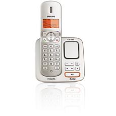 CD3651S/90 Perfect sound 無線電話,附電話錄音機