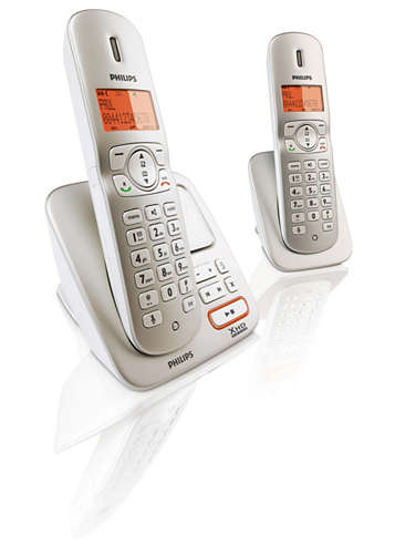Perfect sound Cordless phone with answering machine CD3652S