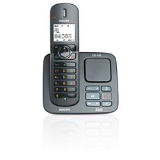 CD5651B/53 -   Perfect sound Telefon bezprzewodowy z sekretarką automatyczną