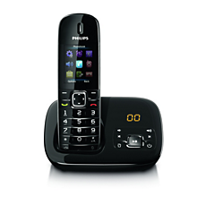 CD6851B/GB BeNear Cordless phone with answering machine