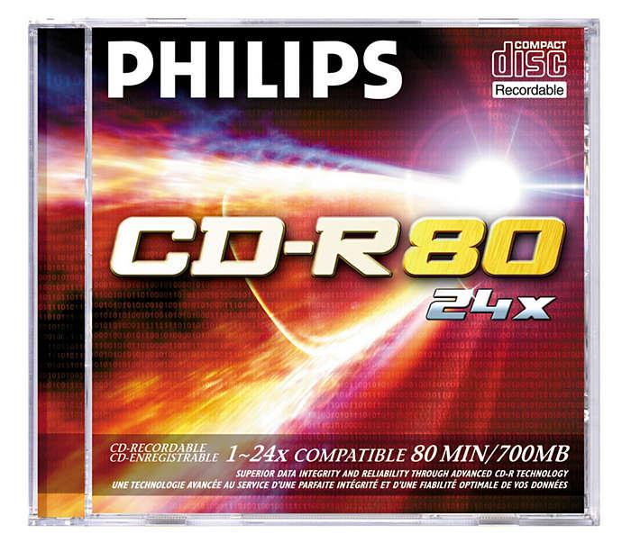 Inovador das tecnologias de CD e DVD!