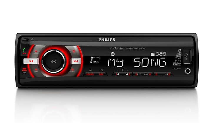 Izbaudiet lielisku mūziku automašīnā