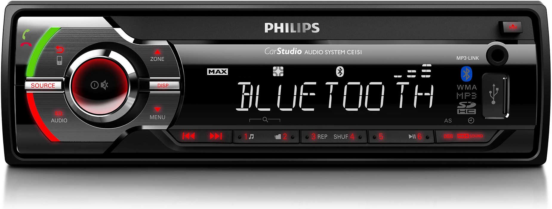 รับฟังการแสดงดนตรีสดในรถยนต์