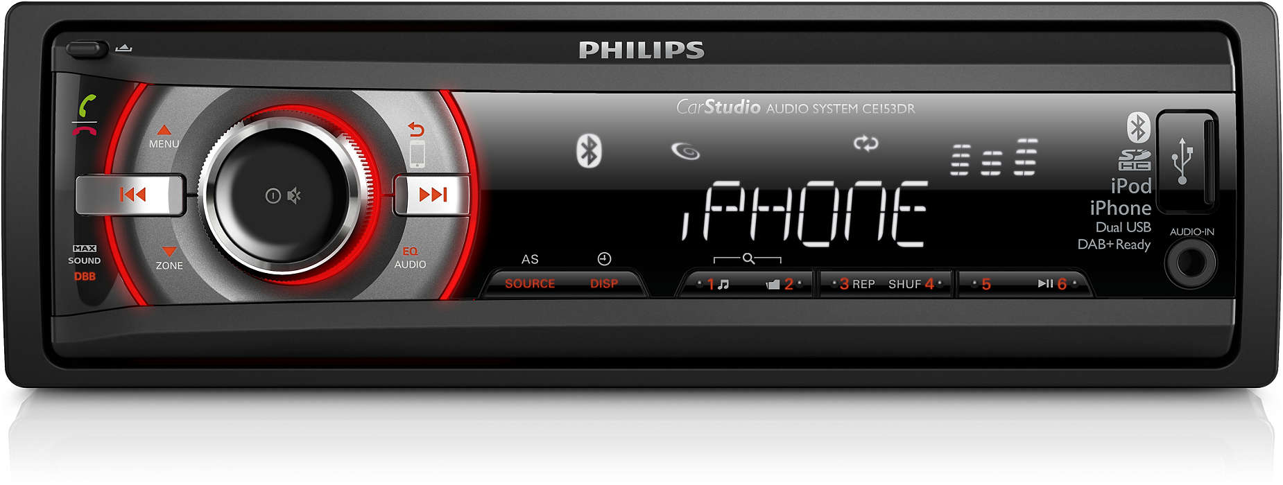 Car Audio System Ce153dr 05 Philips