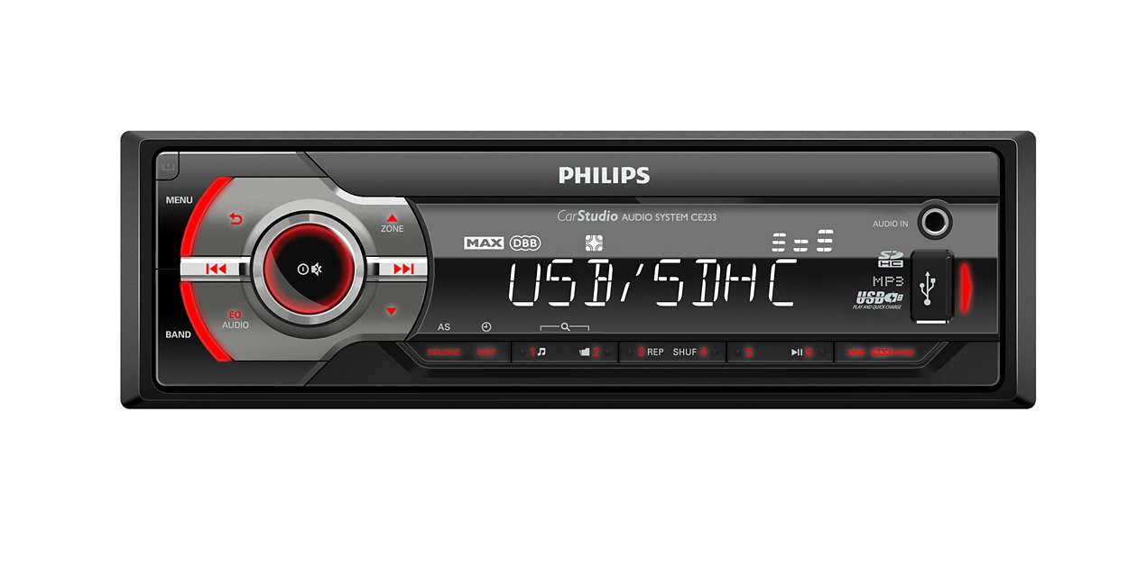 Écoutez de la musique en voiture