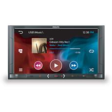 CE600BT/12  Audio-/videosysteem voor in de auto