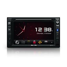 CED1900BT/12 -    Audio a video systém do auta
