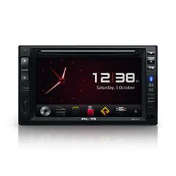 Autós audio/video rendszer