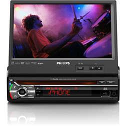 Système audio/vidéo pour voiture