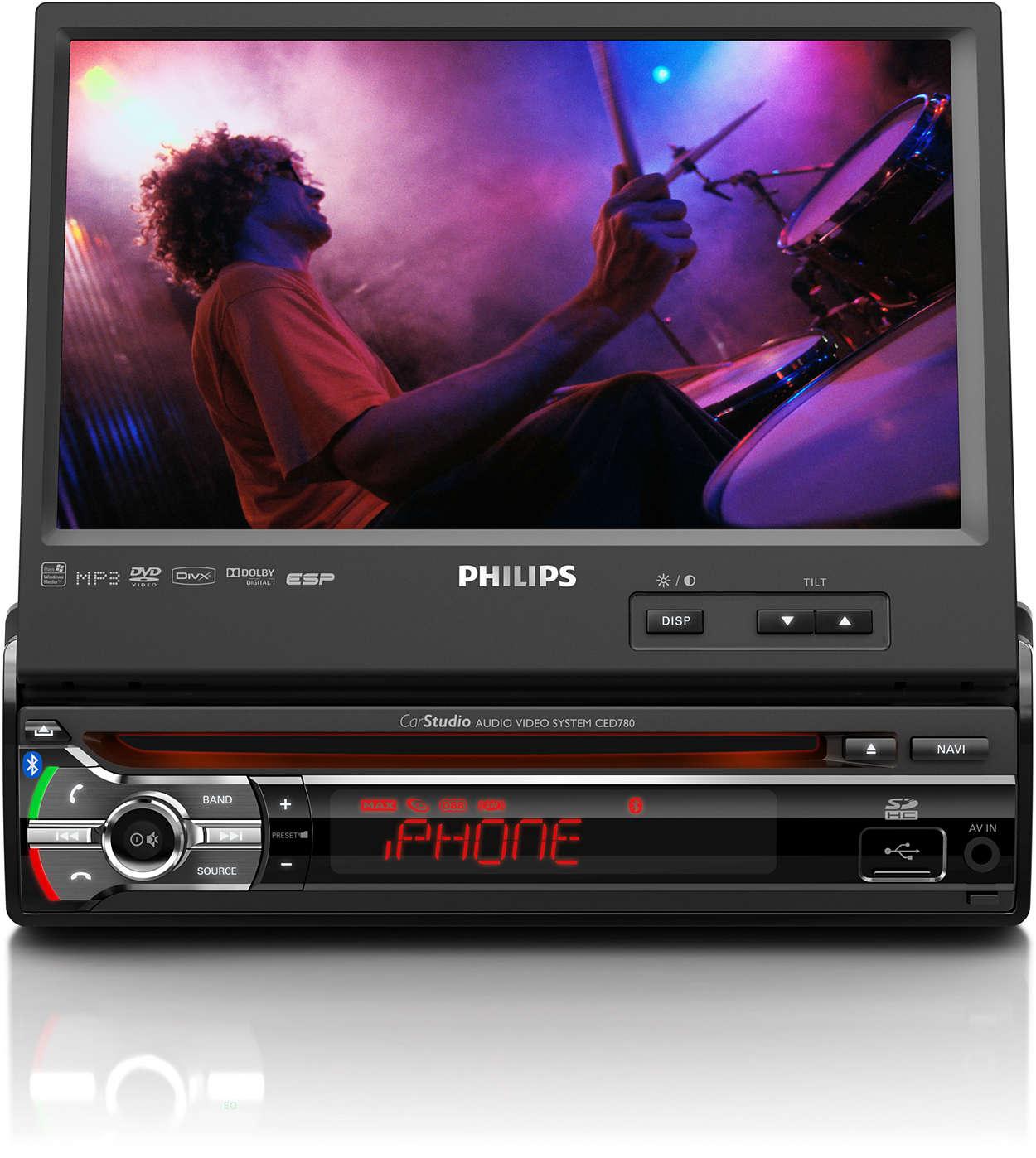 Experimentaţi muzica live cu imagine video în maşina dvs.
