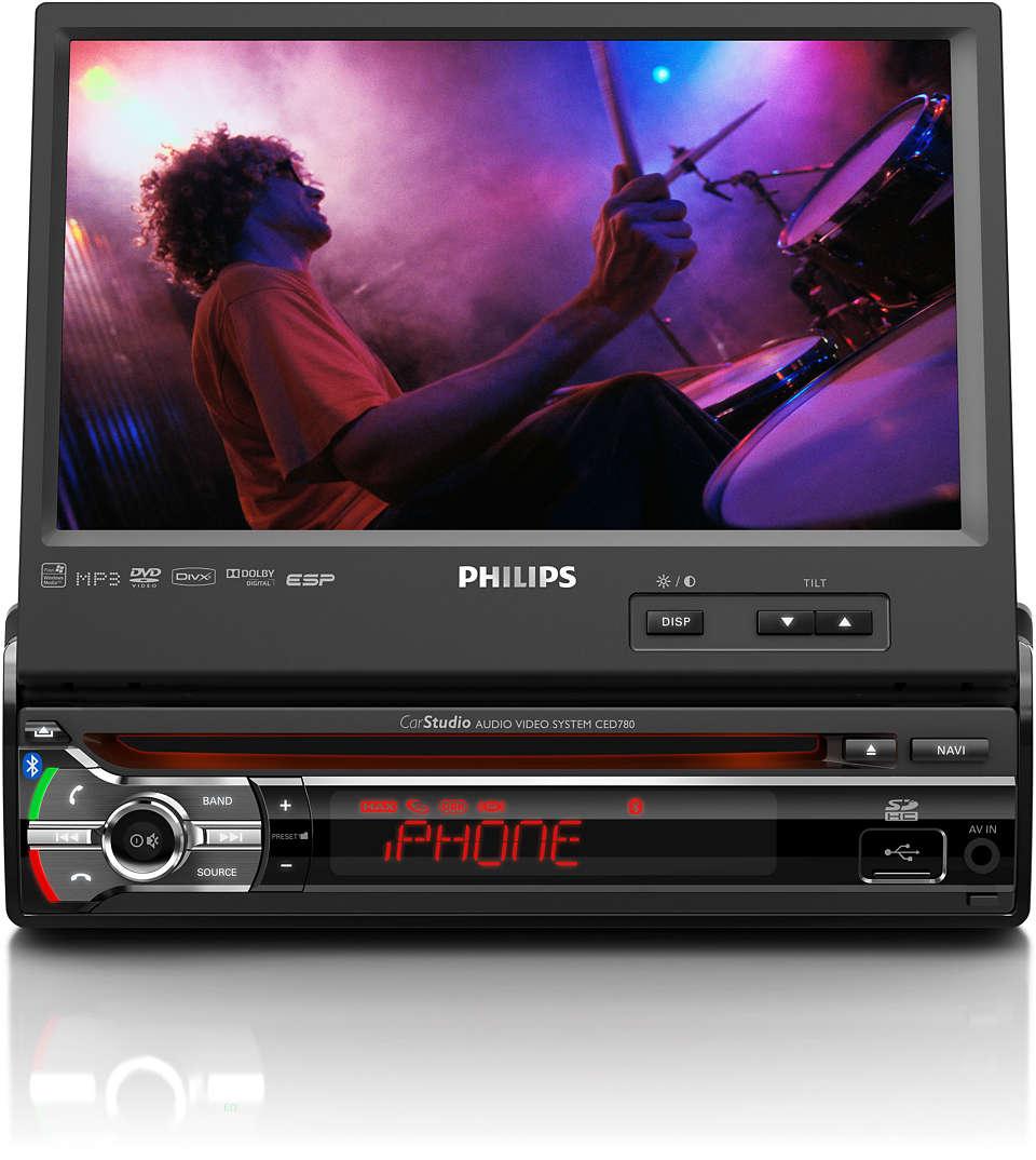 Disfruta música y videos en vivo en tu automóvil