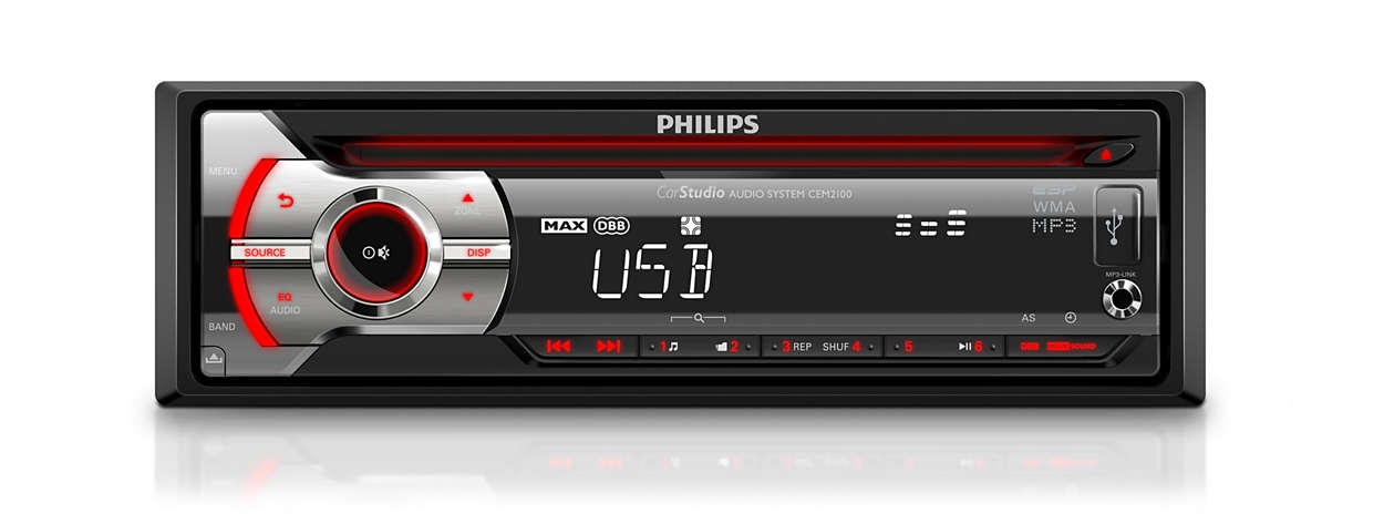 Cem209012 philips philips carstudio car audio system cem2090 cd usb asfbconference2016 Choice Image