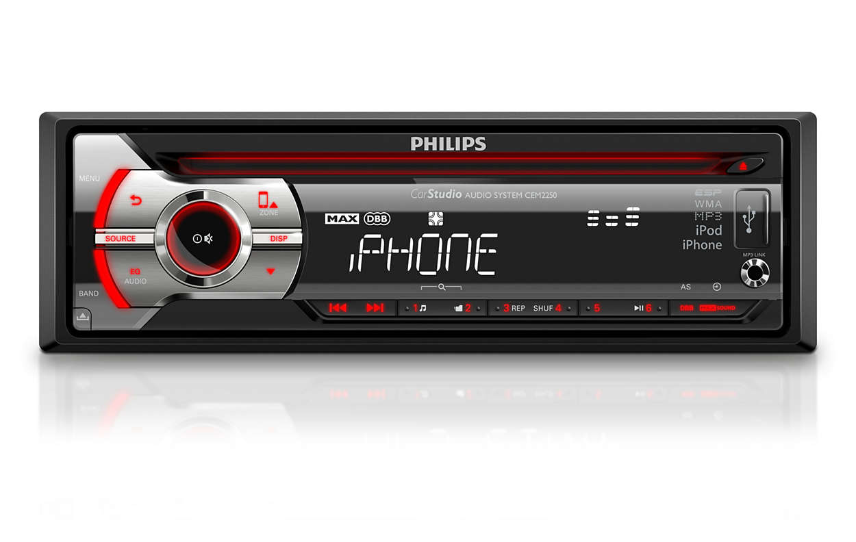 Car audio system cem225098 philips car audio system asfbconference2016 Gallery