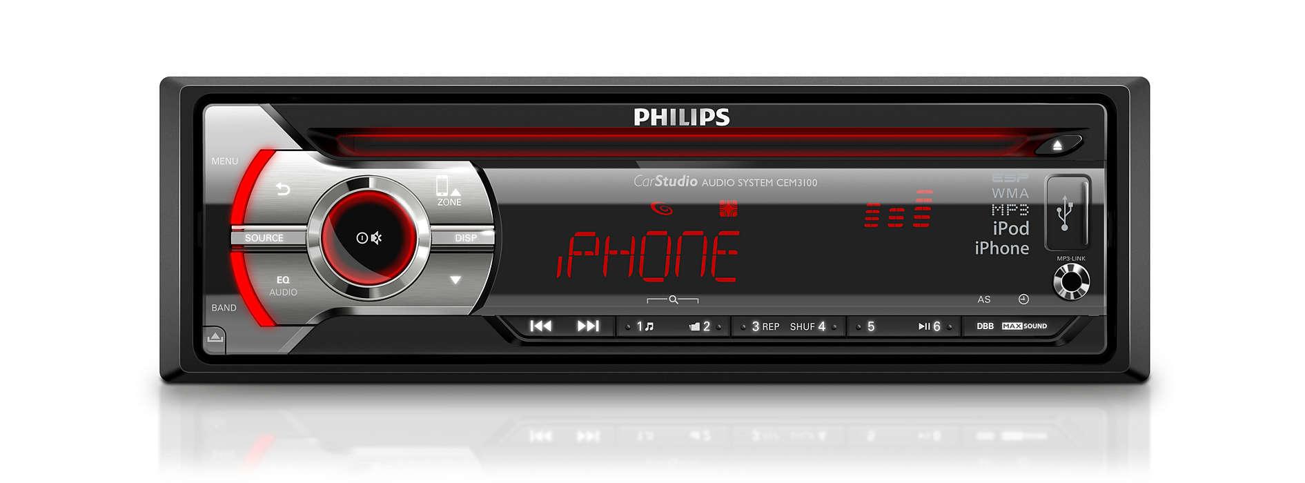 Nauti elävästä musiikista autossasi