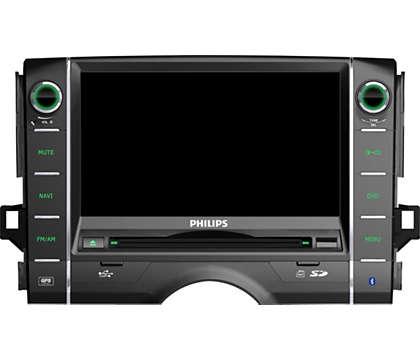 娱乐资讯_车载资讯娱乐系统 CID3610/00 | Philips -飞利浦