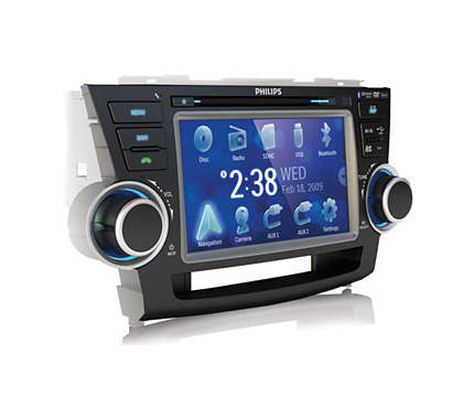 Super clear display for video and navigation