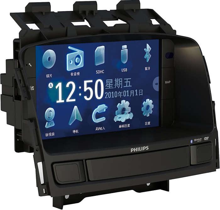 Video ve navigasyon için mükemmel netlikte ekran