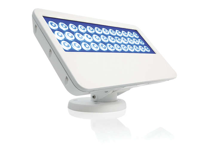 eColor Blast Powercore LED fixture, Blue