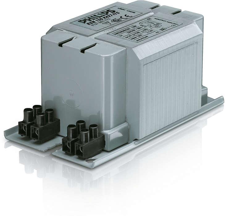 Ballasts imprégnés MK4 BSN pour lampes SON/CDO/CDM