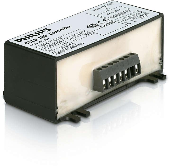 HID-CSLS-ohjausyksikkö SDW-lampuille