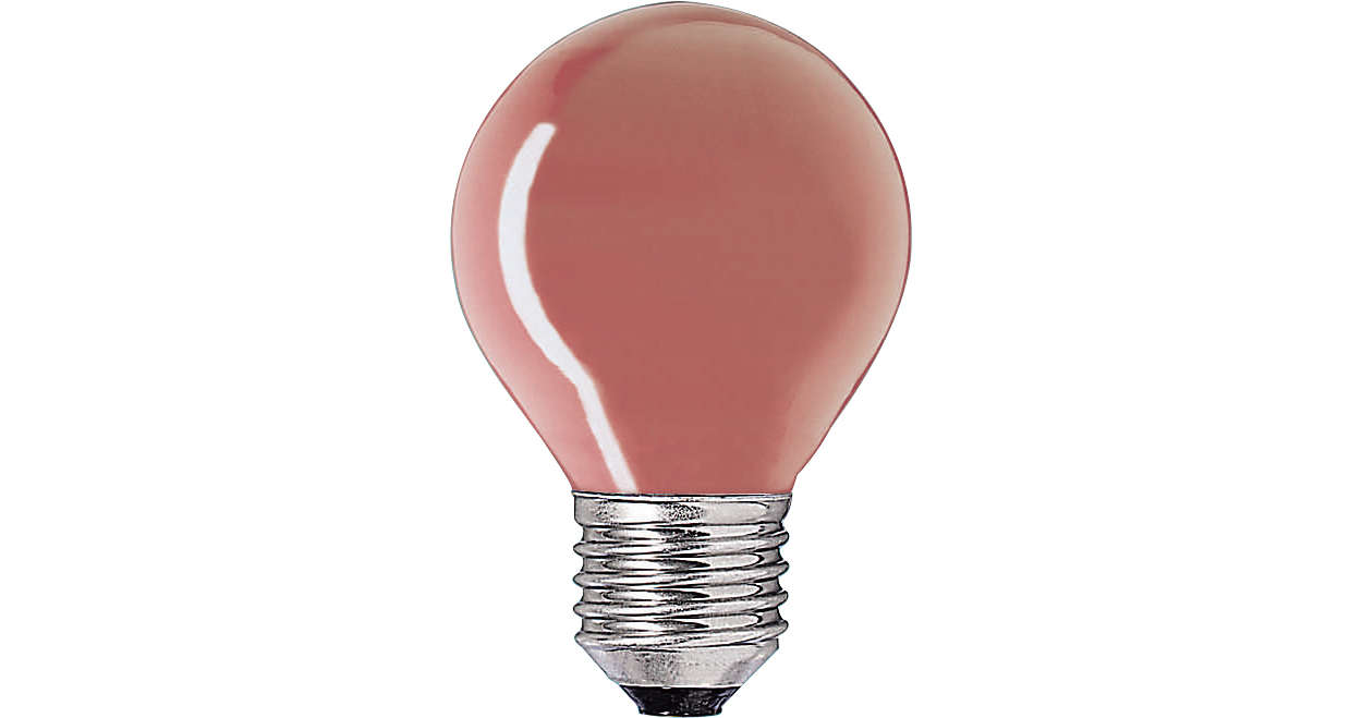 Klotlampa färgad P45
