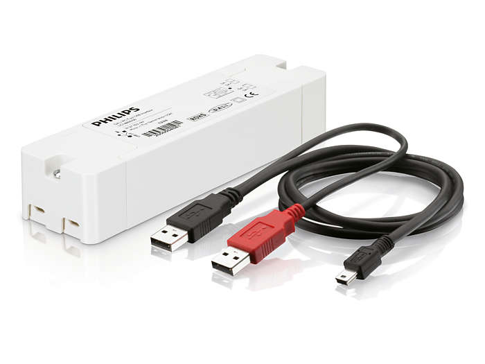 Light Configurator DALI PC-hulpmiddel met USB-interface