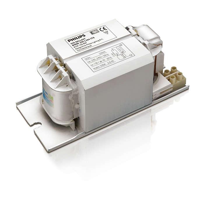 HID-Basic Semi-Parallel Economic ballasts for SON/CDM/MH lamps