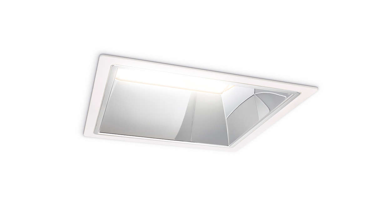 Luxspace Square Recessed Luxspace Philips Lighting