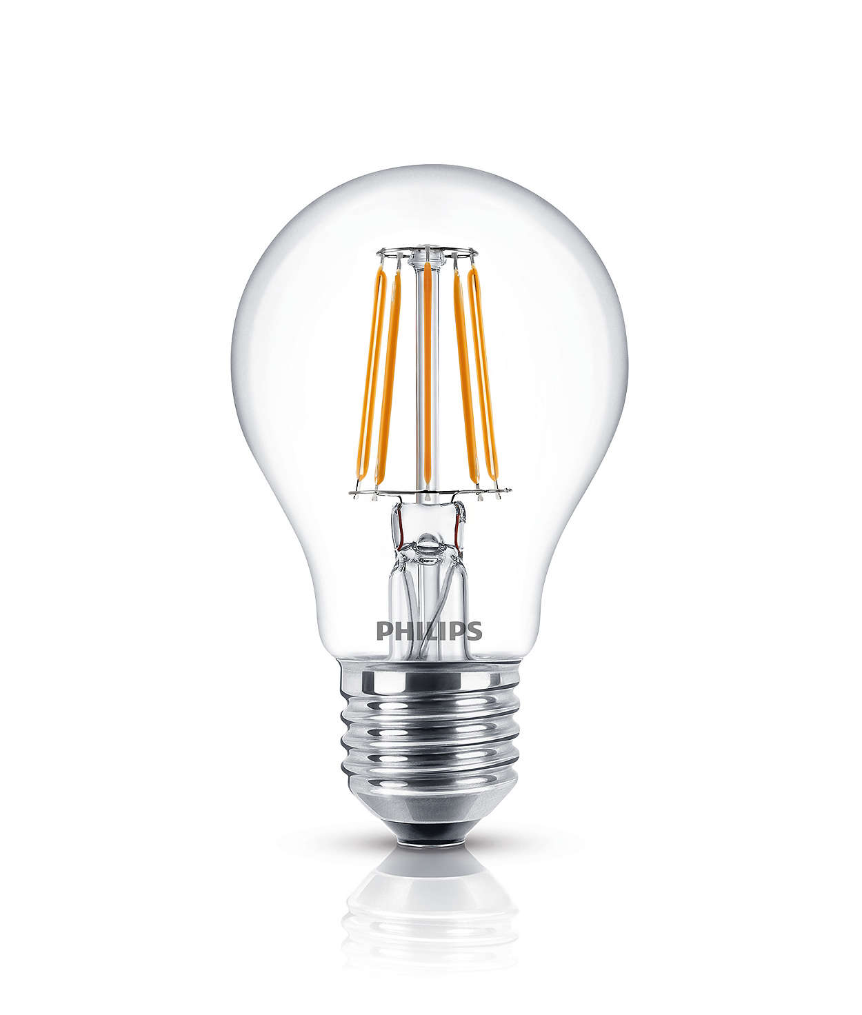 Classic filament led lamps led lamps philips lighting Light bulb lamps