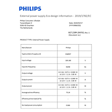 COP2004/01  Podaci o energetskoj učinkovitosti